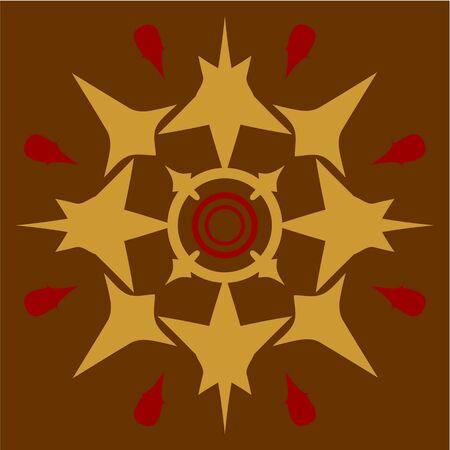 rubin: Vector  Ornament  in color 57