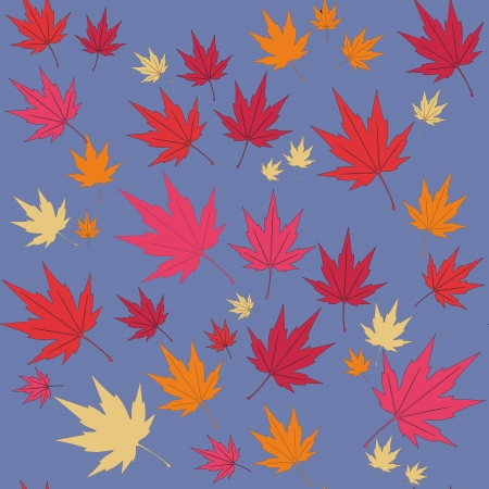 Vector  Seamless leaf ornament  in color 553 Vector