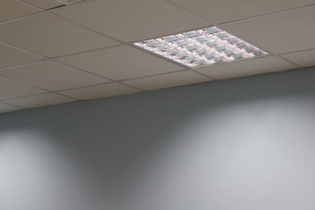 brightness: Office Ceiling at shadow 18808