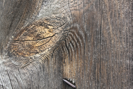 wood texture: Wood , flooring , natural texture with rusty nails, old vintage