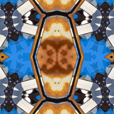 Abstract seamless texture, futuristic background, modern marble mosaic, art deco wallpaper, geometrical fashion illustration.