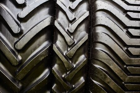 Car tires for large cars. Tires for agricultural machinery.