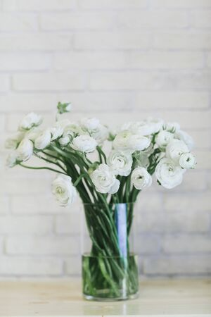 Beautiful bouquet of flowers in a vase.