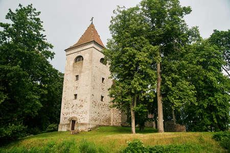 Church of the Archangel Michael in the village of Nevskoye. Kaliningrad region