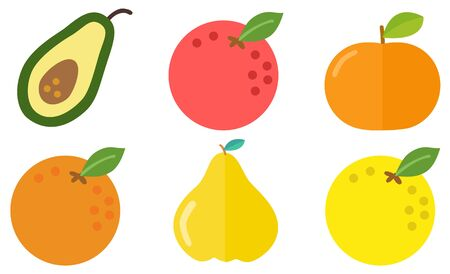 winter fruits icon