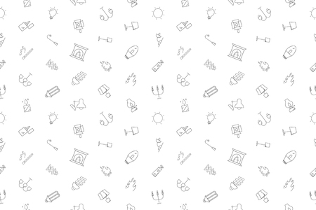 Vector light pattern. Light seamless background