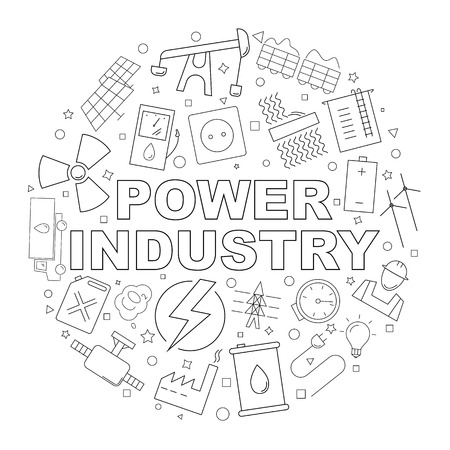 1155 Hydro Power Plant Stock Vector Illustration And Royalty Free