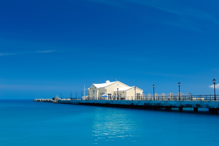 Pier in Bermuda island