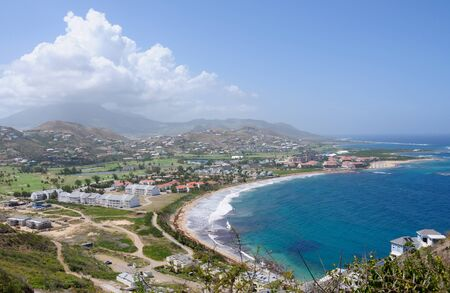 Beach in St Kitts island