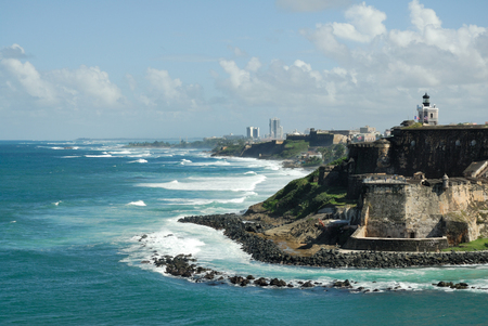 puerto rico: Fort in Puerto Rico Stock Photo