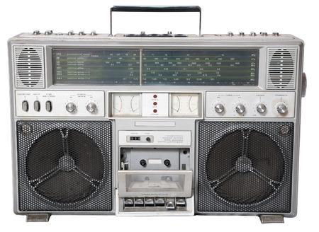 equipo de sonido: Aislado un reproductor de casete edad, de 70 años