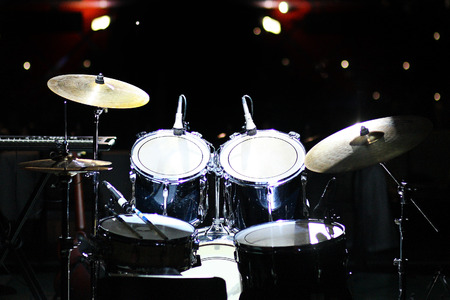 bass drum: Drums are set to play in club