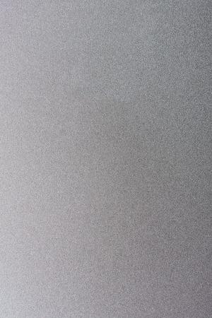 Gray matte metal clean surface. Blank matt silver texture