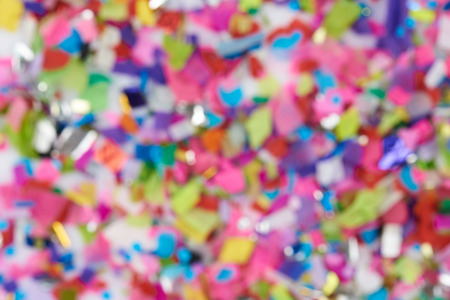 Abstract colorful blurred background. Decoration on party theme