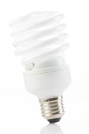 New light bulb isolated close up view Standard-Bild - 121003580