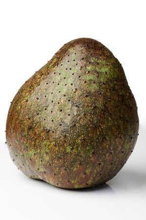 Big soursop fruit isolated on white studio background