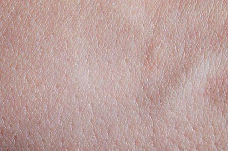 Young skin texture background macro close up view