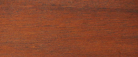 Brown wood plank macro close up view. Texture of dry finished wood
