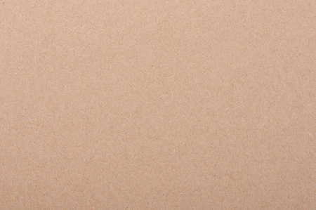 Texture of clean beige color carton paper background