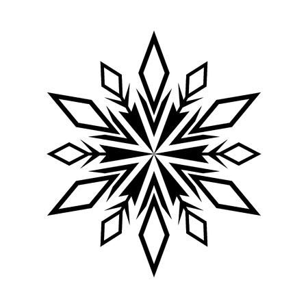 Mandala de Noël. motif circulaire. Vecteurs