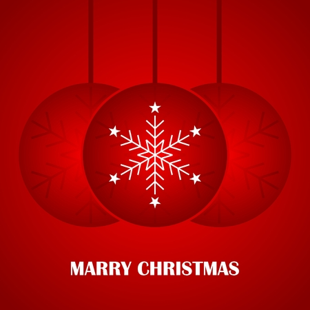 Christmas and happy new year greeting illustration background. You can use it for business cards, letterheads, posters, banners, etc. Illustration
