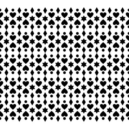 Merry Christmas ethnic Pattern. tribal xmas event design illustration vector. christmas design black white color. Иллюстрация