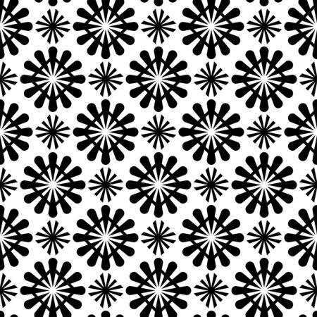 Merry Christmas ethnic Pattern. tribal xmas event design illustration vector. christmas design black white color. Stock Illustratie