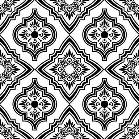 Ikat folklore ornament. Ethnic pattern design Иллюстрация