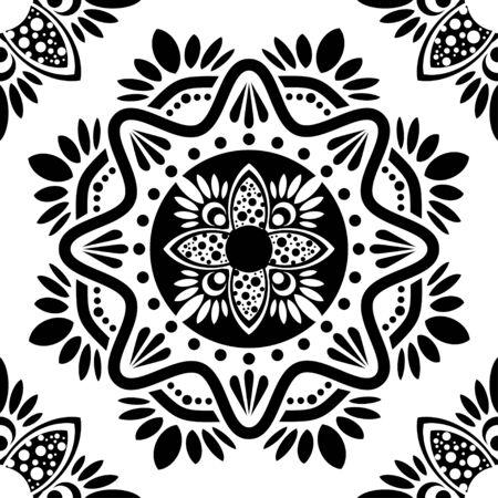 Islamic geometric arabic pattern design illustration vector