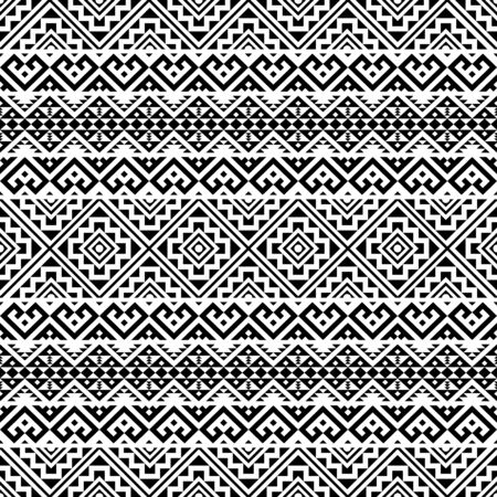 Moroccan Vector seamless pattern, abstract geometric background illustration, fabric textile pattern