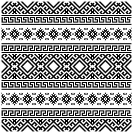 Moroccan Vector seamless pattern, abstract geometric background illustration, fabric textile pattern. Persian ethnic seamless pattern design