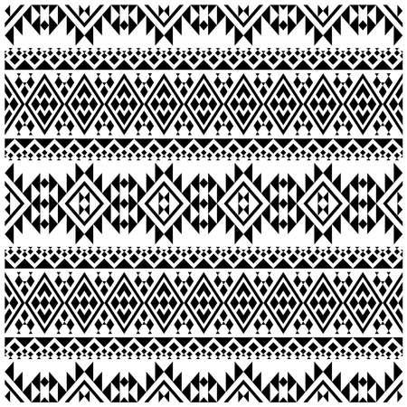 Ikat ethnic seamless pattern textile digital print design illustration vector