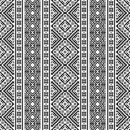 Tribal ethnic seamless pattern background design vector 向量圖像