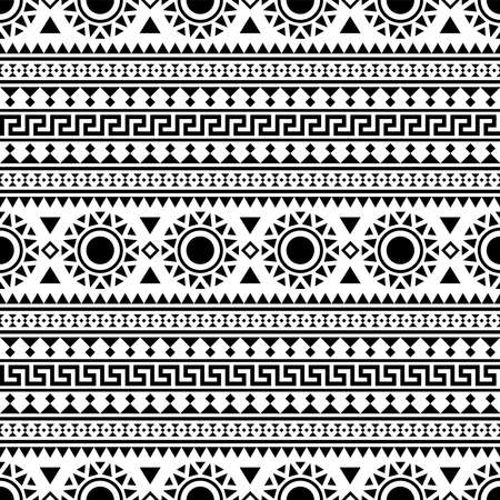 Tribal Seamless Pattern texture background design vector