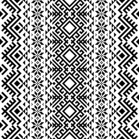 Navajo ethnic seamless pattern texture design vector 向量圖像