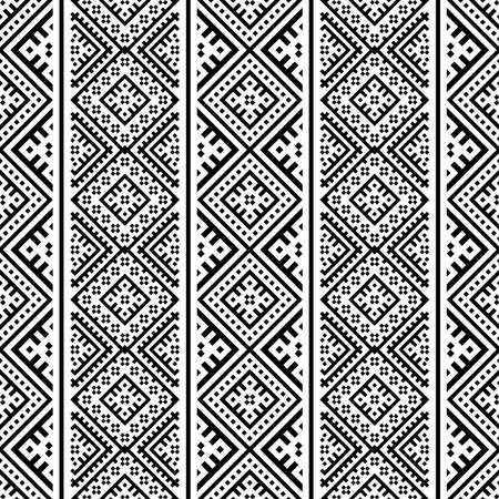 native traditional seamless ethnic pattern texture background design vector