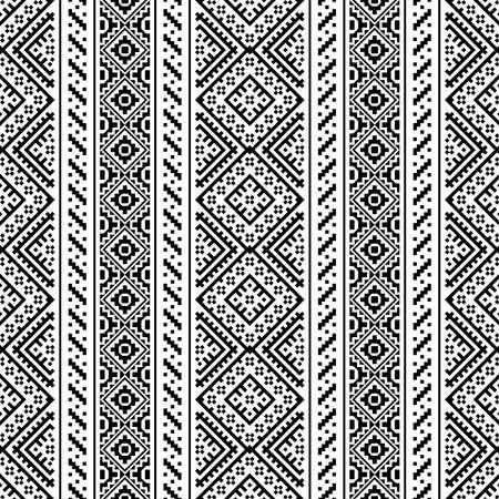 vertical Aztec seamless ethnic pattern texture design vector 向量圖像