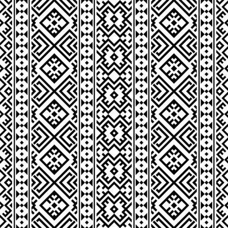 Moroccan motif pattern illustration vector in black white color 向量圖像