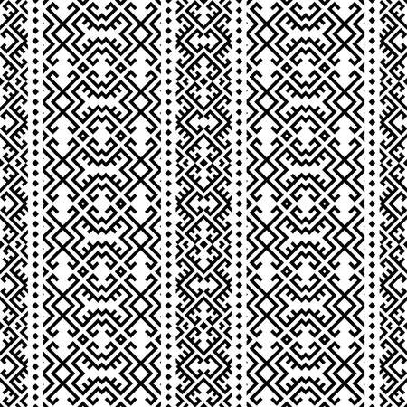 persian moroccan pattern motif texture background in black white color 向量圖像