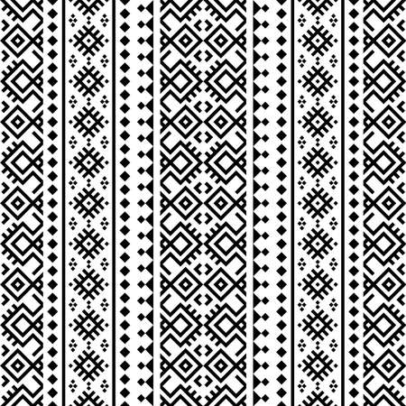 Vertical ethnic pattern texture design vector Ilustração