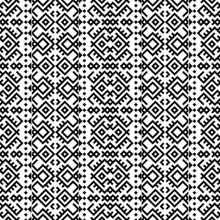 Vertical traditional aztec pattern texture design vector Ilustração