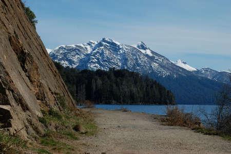 bariloche: Indian Head Mountain, Bariloche, Argentina Stock Photo