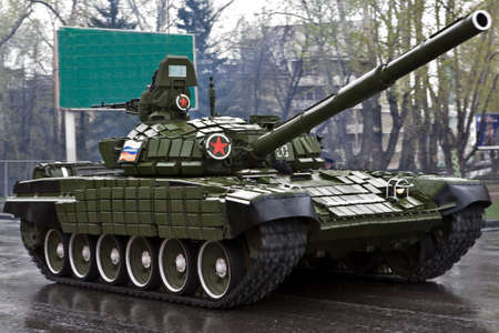 unstoppable: Parade of military technics on May, 9th in Ekaterinburg