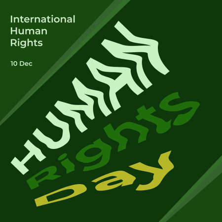 Poster Human Rights Day. International Human Rights Day Campaign