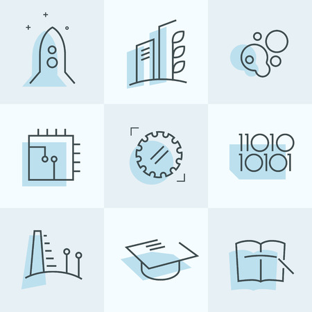 Study Icons set