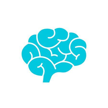 脳のアイコン  イラスト・ベクター素材