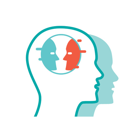 Psychology icon Reklamní fotografie - 85312036