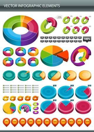 실린더: 정보 그래픽 수집 정보의 그래픽 디자인