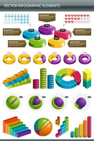 zylinder: Infografiken Infografiken Design Kollektion Illustration