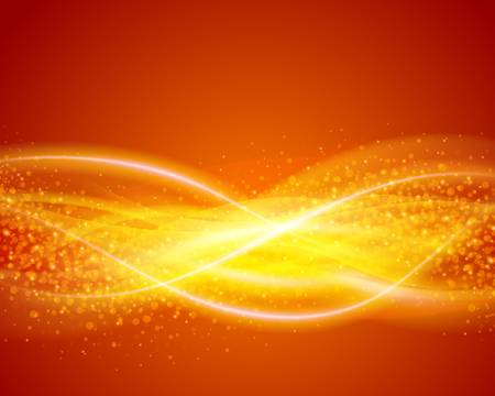 Abstract energy light lines background Vector